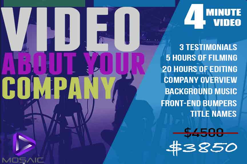 tampa video promotion